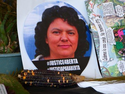 Berta Caceres was killed because of her protests against the Agua Zarca dam