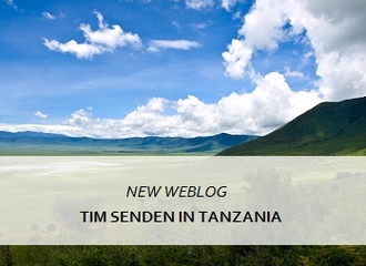 Tim Senden reporting from Tanzania