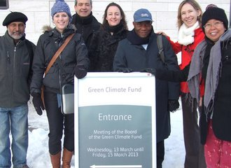 Reporting on Green Climate Fund!