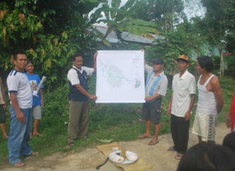 community map sanggau