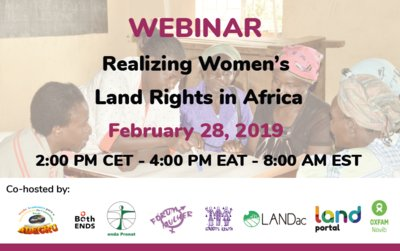 190228 Women's land rights Africa
