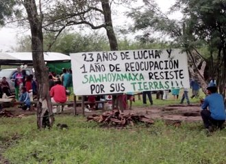 Paraguay_Sawhoyamaxa protest_ photo Amnesty International