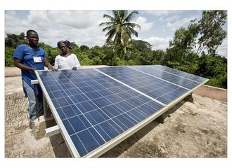 Solar Grandmothers project in Togo