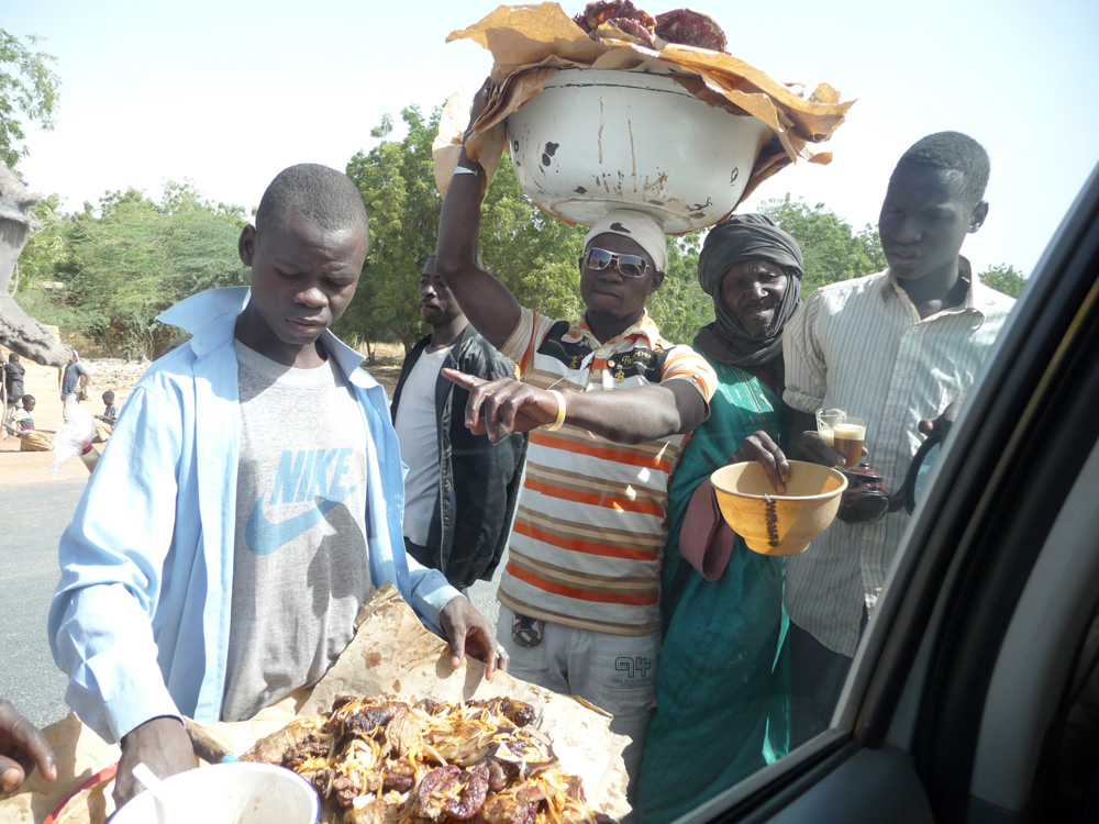 local food selling Niger