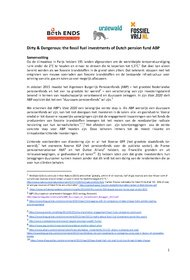 document/Samenvatting_Dirty_and_Dangerous_NL_versie_cover